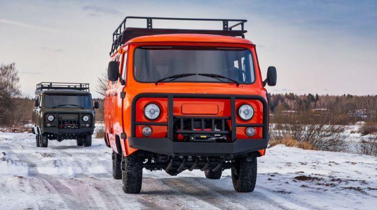 UAZ 3909 Expedition slaví úspěchy