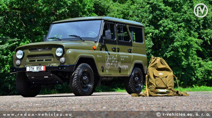 Poslední edice UAZ Hunter