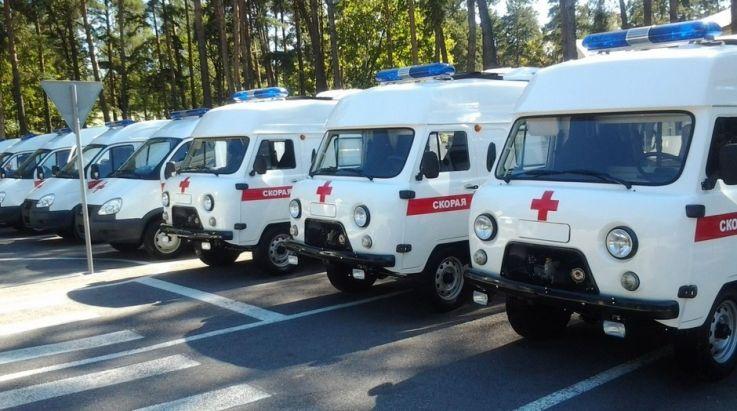 Nové sanitní vozy UAZ