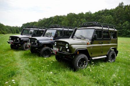 UAZ Hunter Jungle