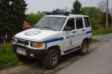 UAZ u městské policie