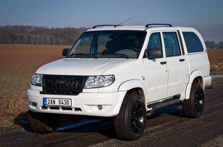 UAZ Pickup s nástavbou